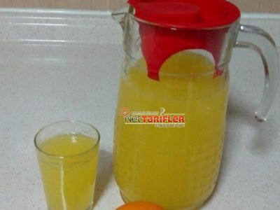 Ev yapımı Taze Limonata