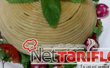 Garnitürlü Spagetti