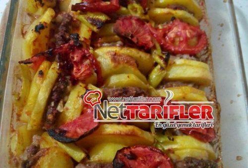 Köfteli Patates Dizmesi