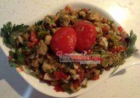 Ekşili Közlenmiş Patlıcan Salatası