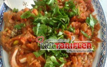 Domatesli Patlıcan Salatası